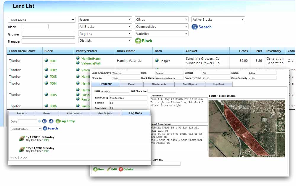 Landmaster Land Management Software For Agriculture